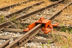 De Rail Stock Photo