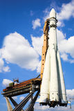 De raket van het ruimteschip Royalty-vrije Stock Afbeeldingen