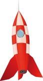 De raket van het stuk speelgoed Stock Afbeeldingen