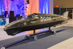 De Raket van Triumph Castrol Stock Fotografie