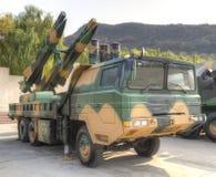 De raketsysteem van de luchtdefensie Royalty-vrije Stock Foto