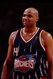 De Raketten van Charles Barkley Houston Royalty-vrije Stock Foto's