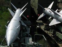 De raketten van vliegtuigen Stock Afbeelding