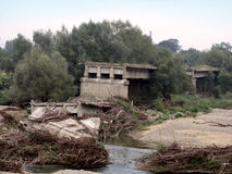 De ramp van de de zomervloed Stock Afbeeldingen