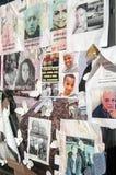 De Rampen ontbrekende affiches van de Grenfelltoren Royalty-vrije Stock Foto