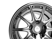 De rand van de auto royalty-vrije illustratie