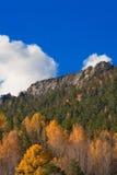 De rand van de berg stock afbeeldingen