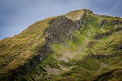 De Rand van de berg Stock Afbeelding