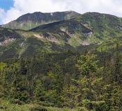 De rand van de berg stock fotografie