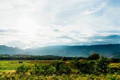 De rand van de berg Stock Foto