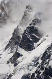 De rand van de berg in Nepal Royalty-vrije Stock Afbeeldingen