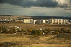 De rand van de stad van Orsk Royalty-vrije Stock Foto's
