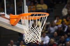 De Rand van het basketbal stock foto