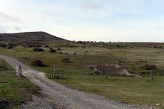 De rand van het dorp van Porvenir royalty-vrije stock foto
