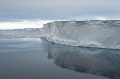 De rand van het ijs Stock Afbeelding