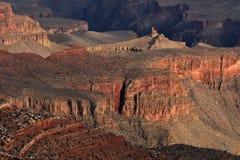 De Rand van het zuiden, Grote Canion Stock Foto's