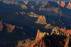 De Rand van het zuiden, Grote Canion Stock Fotografie