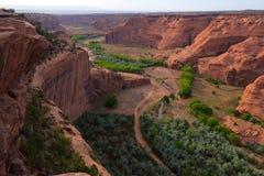 De Rand van het zuiden van Canyon DE Chelly National Monument Royalty-vrije Stock Afbeelding