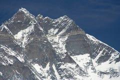 De Rand van Lhotse Stock Foto's