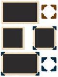 De Randen van de Antiguefoto Royalty-vrije Stock Foto