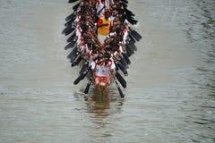 De rassen van de boot van Kerala royalty-vrije stock foto