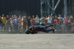 De rassen van de motorfiets Stock Foto