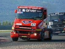 De rassen van vrachtwagens Stock Afbeelding