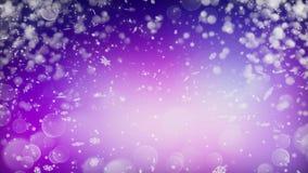 De realistische achtergrond van de sneeuw Abstracte winter Royalty-vrije Stock Afbeelding