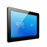De realistische computer van tabletpc. Vectorillustratie Royalty-vrije Stock Fotografie