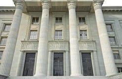De Rechtbank van de architectuur Royalty-vrije Stock Foto