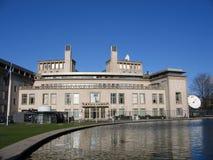 De rechtbank van Den Haag stock afbeeldingen