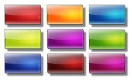 De rechthoek van Webknopen #08 Stock Foto's