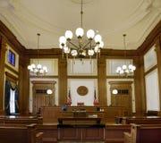 De Rechtszaal Portland Oregon van het Gerechtsgebouw van de pionier Stock Afbeeldingen