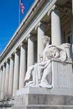 De rechtvaardigheid is blind royalty-vrije stock afbeelding