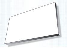 De reclame van banner op net Stock Foto's