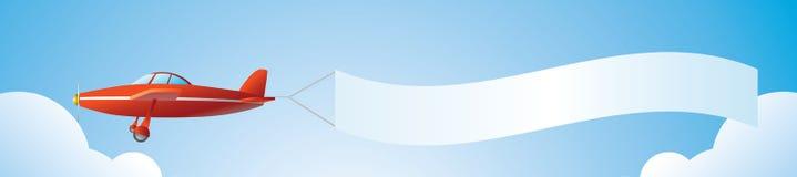 De reclame van de lucht Stock Foto