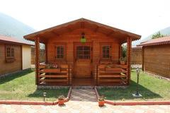 De recreatiecabine van het kamp Stock Afbeelding