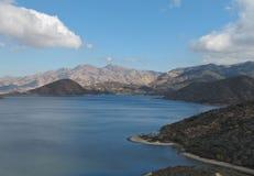 De Recreatiegebied van de Staat van het Silverwoodmeer, Californië Royalty-vrije Stock Afbeeldingen