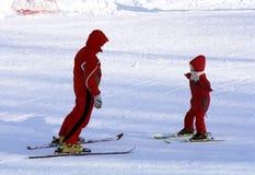 De recreatieve activiteit van de winter Stock Fotografie