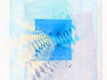 De recursieve Fractal achtergrond van de Vlam Stock Afbeelding