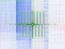 De recursieve Fractal achtergrond van de Vlam Royalty-vrije Stock Afbeelding
