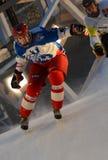 De Red Bull Verpletterde concurrentie van het Ijs Royalty-vrije Stock Foto