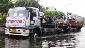 De Redding van de vloed Stock Fotografie