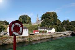 De reddingsboei van Castletownroche Stock Afbeeldingen