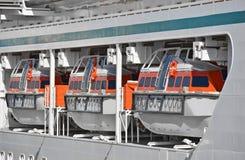 De reddingsboot van de veiligheid royalty-vrije stock afbeelding