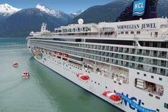 De Reddingsbootboor van het cruiseschip Royalty-vrije Stock Afbeelding