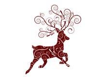 De reeën van Kerstmis Royalty-vrije Stock Foto's