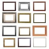 De reeks frames Stock Afbeeldingen