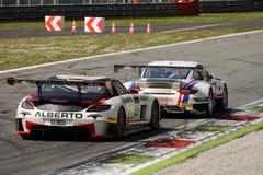 De Reeks 2015 ras van de Blancpainduurzaamheid in Monza Stock Afbeeldingen