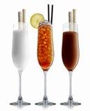 De reeks van de alcoholcocktail Royalty-vrije Stock Fotografie